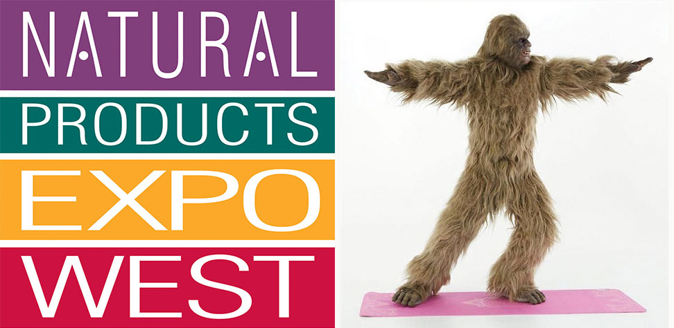 Natural Products Expo West Sasquatch
