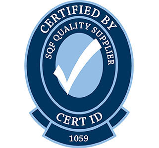 Certified by SQF Quality Supplier Logo